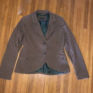 Mango menswear style plaid jacket
